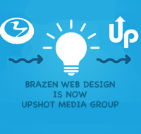 Brazen Web Design is now Upshot Media Group