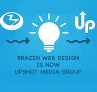 Brazen Web Design is now Upshot Media Group